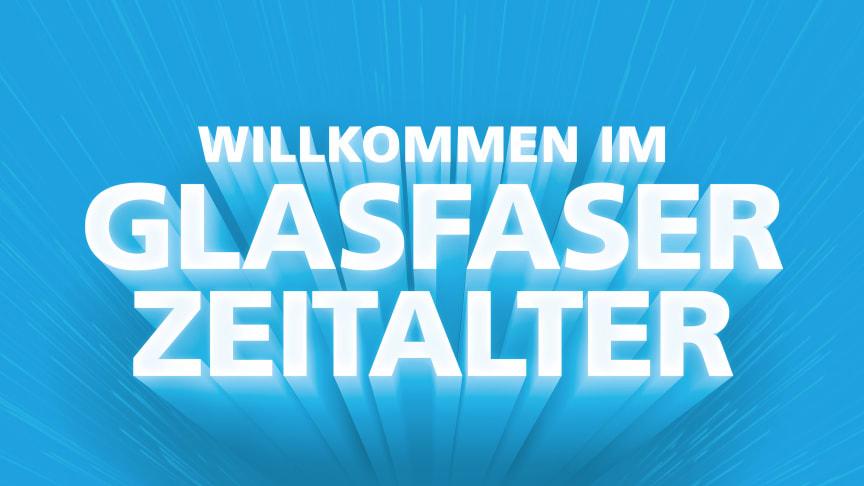 """""""Wir läuten heute ein neues Zeitalter ein – das Glasfaserzeitalter. Unsere Mindestgeschwindigkeit beginnt bei 300 Megabit/Sekunde und übertrifft so die Maximalleistung veralteter Kupfertechnologien"""", sagt Uwe Nickl, CEO von Deutsche Glasfaser. (DG)"""
