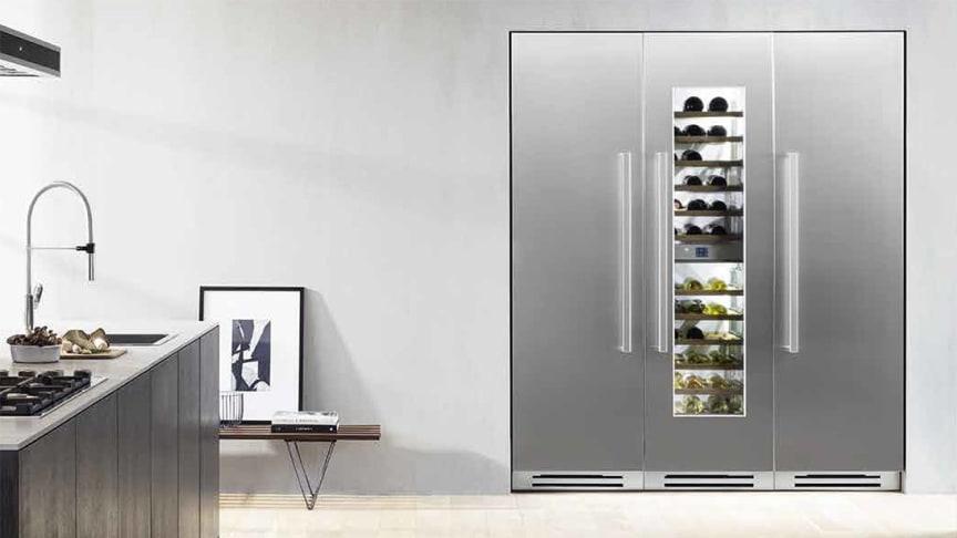 Bertazzonis presenterar Food and Beverage Preservation System – med kyl, frys och vinskåp för inbyggnad