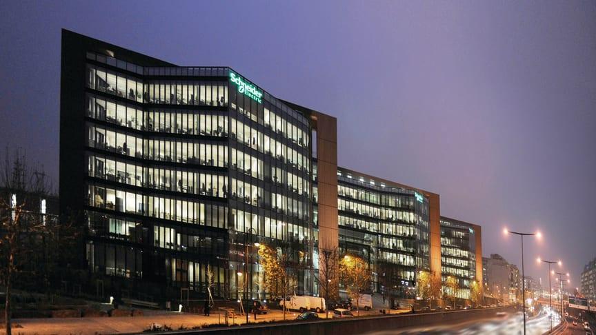 Schneider Electric på bærekraftstoppen