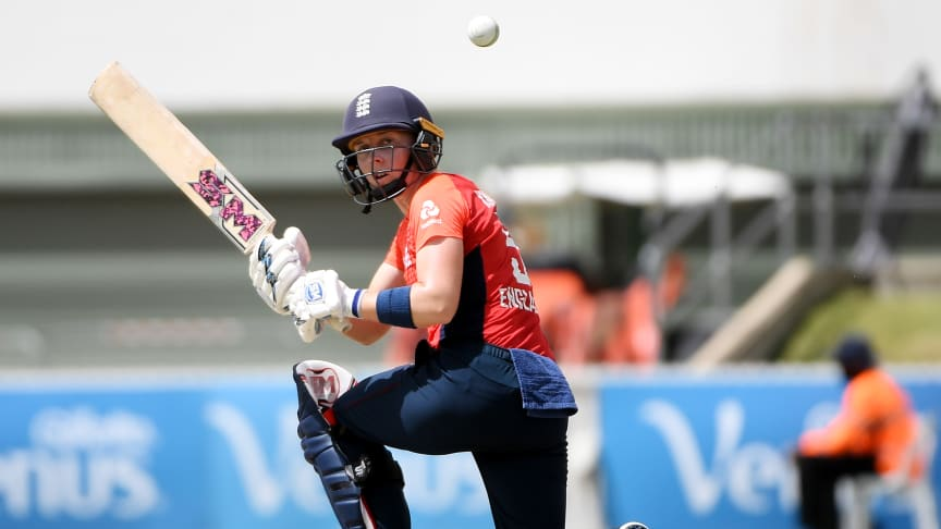 Heather Knight recorded a career-best for the second day in a row. Photo: Getty Images