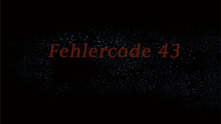 fehlercode 43