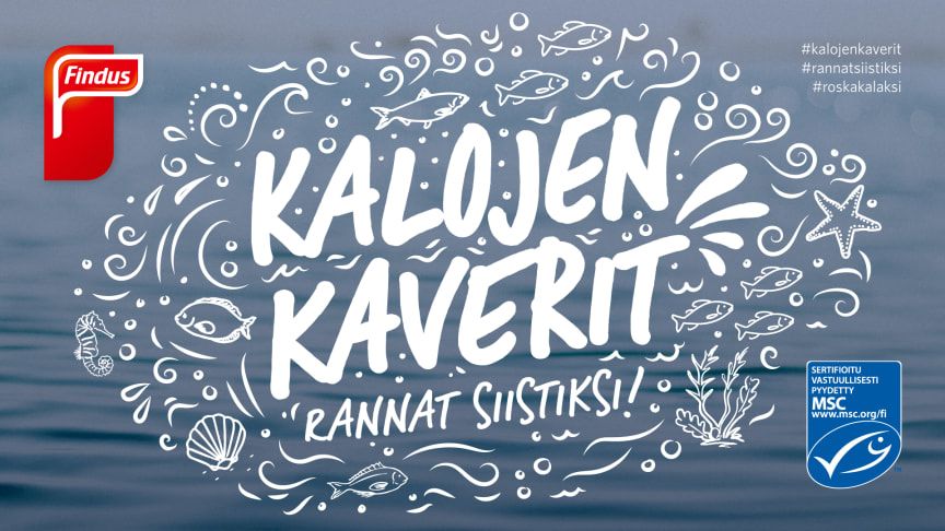 Kalojen Kaverit - Rannat siistiksi!