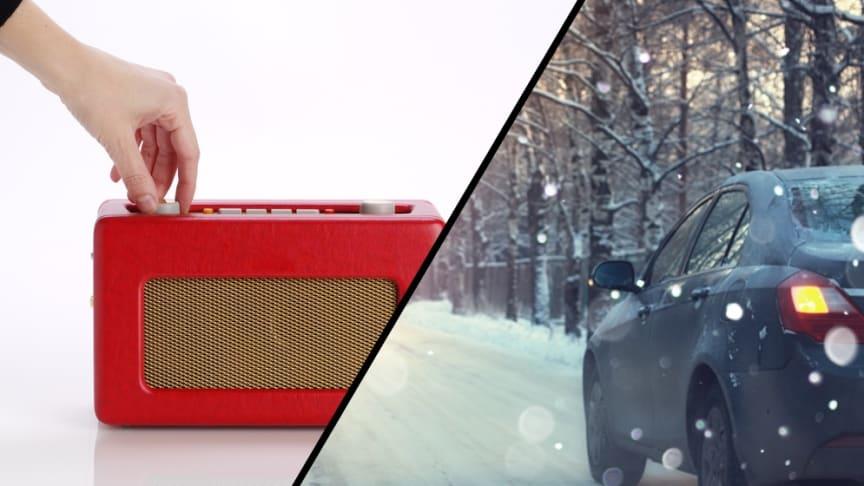 Salget av DAB-radioer har steget kraftig den siste tiden. Oppgangen for adapterustyr til bil er på over 300 prosent i desember.