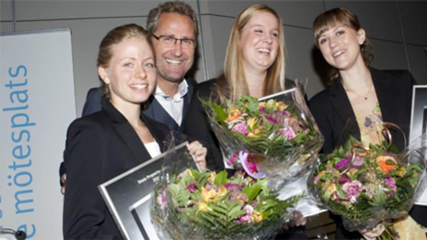 Stora Property-priset 2011: Utmaningar inom miljö och fastighetsförvaltning belönar innovativa studenter med 100 000 kronor