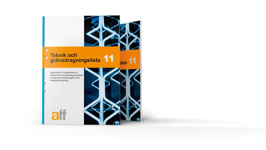Nu lanseras nya Aff-dokumentet Teknik och gränsdragningslista 11