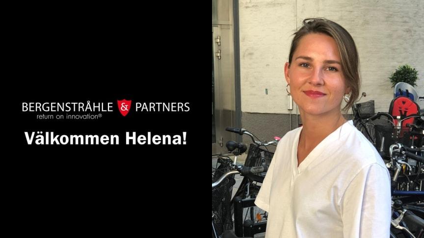 Helena Åkesson är ny patentkonsult hos Bergenstråhle & Partners