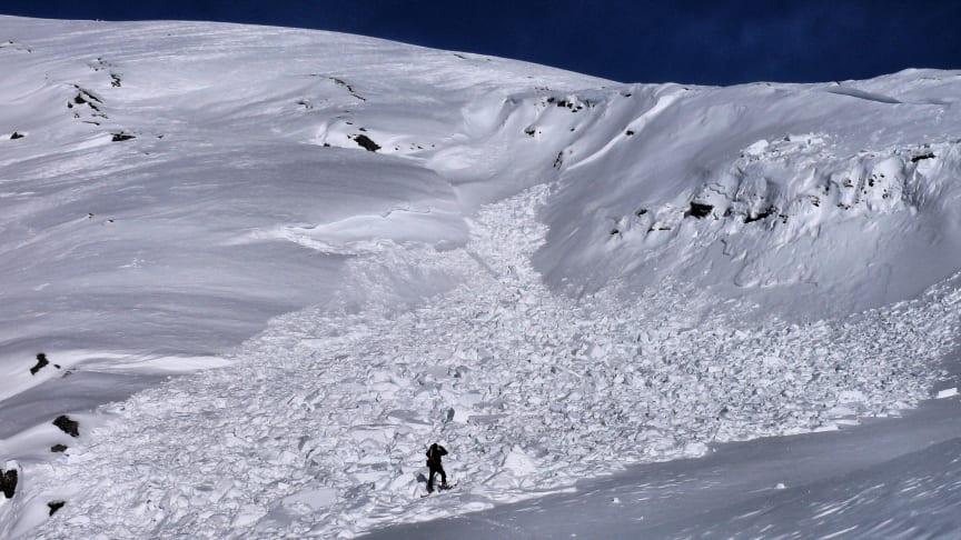 Velg skredsikre turer i vinterferien!