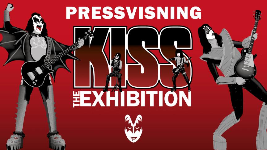 Pressvisning av Kiss - The Exhibition