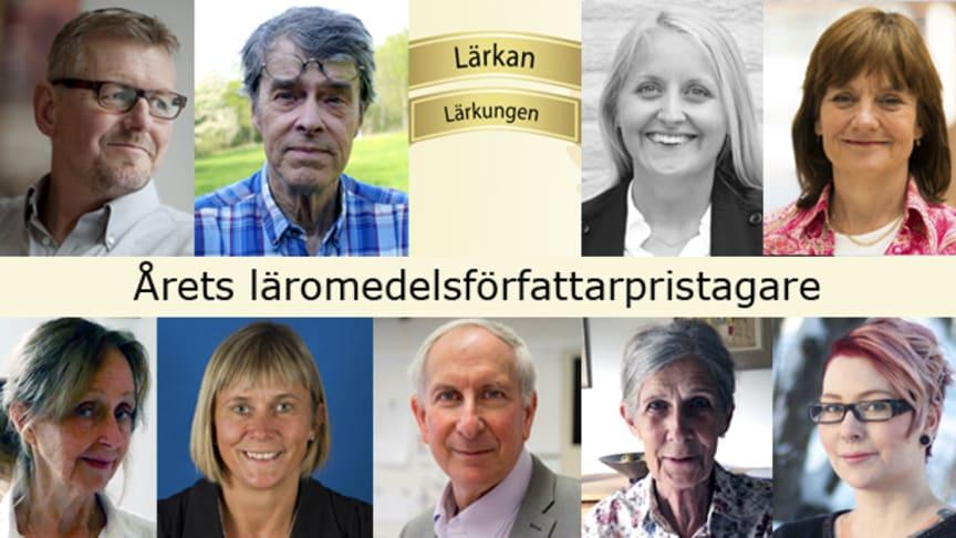 Torsten Bengtsson, Hans Heikne, Märta Glaveby, Synnöve Carlssson, Anna Ericsson Nordh, Lena Alfredsson, John Steinberg, Ingmari Lundhäll och Anna Hansson.