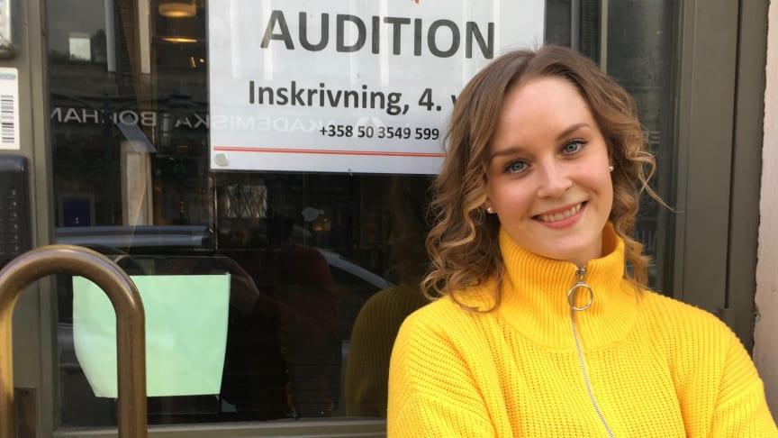 """Jonna gick estet på Katedralskolan- nu har hon en roll i musikalen """"Grease"""""""
