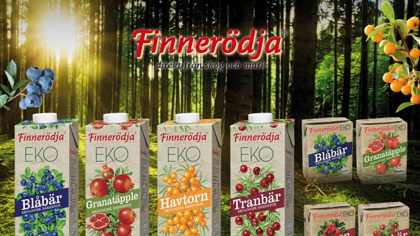 Ekologiska bärdrycker från Finnerödja