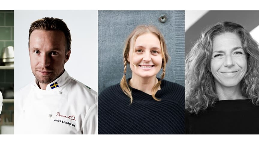 Expertjuryn Nyskaparstipendiet 2017 - Jimmi Eriksson, Alexander Sjögren, Jonas Lundgren, Susanne Liljenberg, Hanna Halpern, Thomas Palmqvist