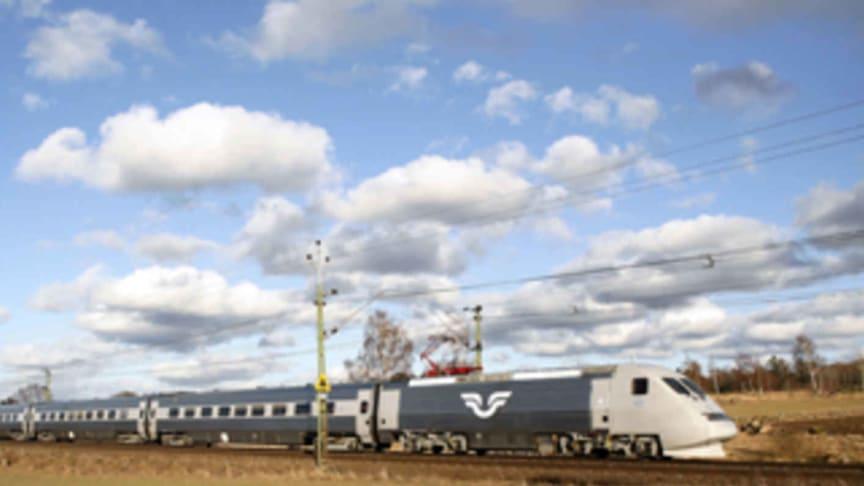 SJ-tåg går som normalt