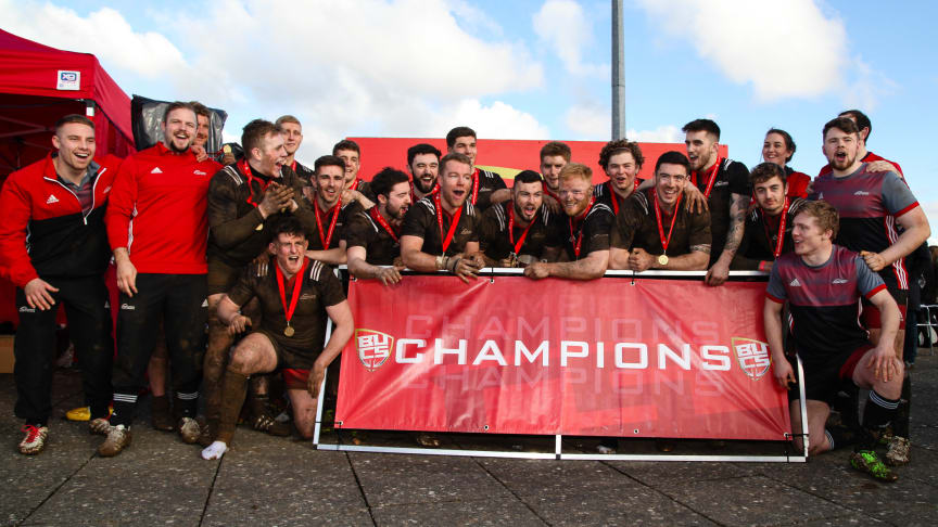 Team Northumbria reap gold in BUCS Championship Finals