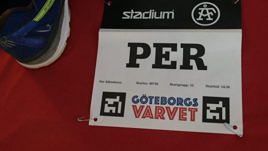 Nu är vi redo för start. På lördag kl. 14.35 ger vi oss iväg runt Göteborg.
