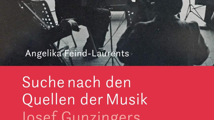 Cover des Buches über Josef Gunzingers Leben und Werk von Angelika Feind-Laurents, Verlag am Goetheanum