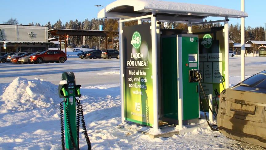 Bee Charging Solutions inleder samarbete med Umeå Energi kring elbilsladdning