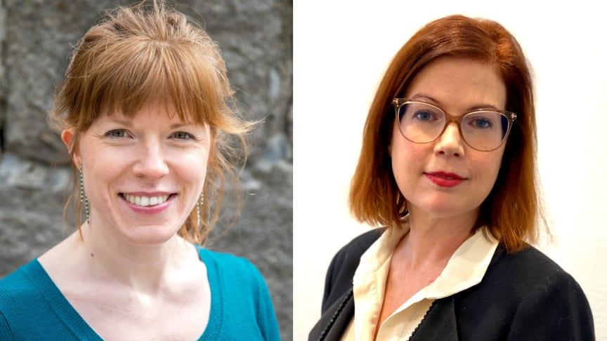 Christine Lorne (C), ordförande i Folkhälsoberedningen i Region Stockholm och Anna Starbrink (L), hälso- och sjukvårdsregionråd i Stockholm.