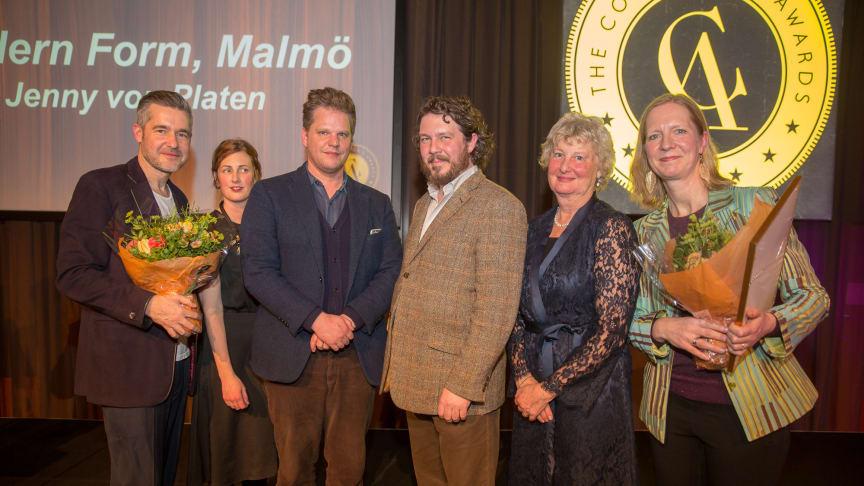 Några av de lyckliga vinnarna på The Collector's Awards 2018.