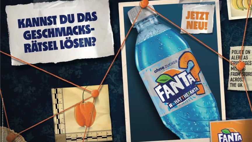 Fanta bringt blaue #WhatTheFanta Variante auf den Markt