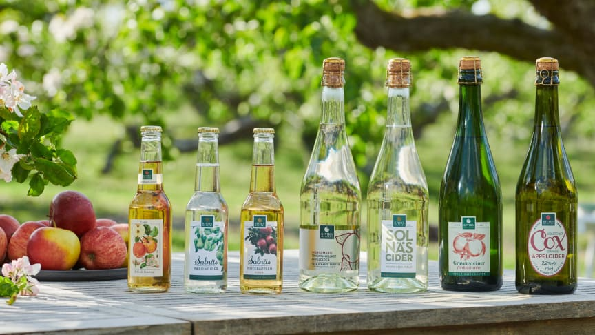 Cider på 100% svenska äpplen från Kiviks Musteri