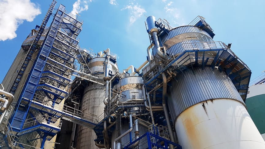 Pappersindustrins restprodukter blir bränsle