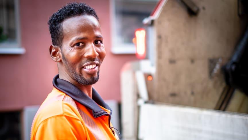 Hassan Abdullahi Hashi. Foto: Cheyenne Olander.