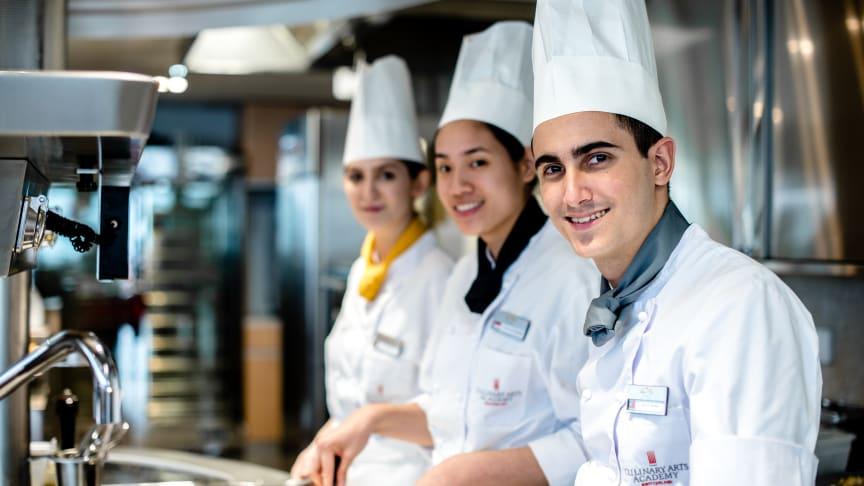 Öppet Hus online-Kockutbildning på Culinary Arts Academy,Switzerland
