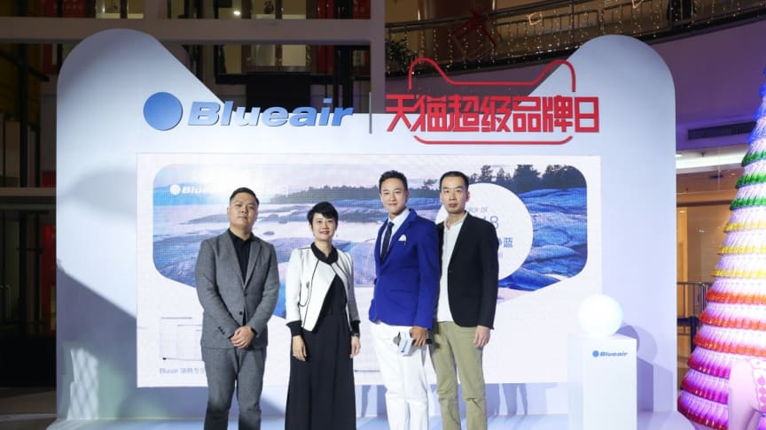 Blueair launches first ALIBABA TMALL Super Brand Day for Air Purifiers