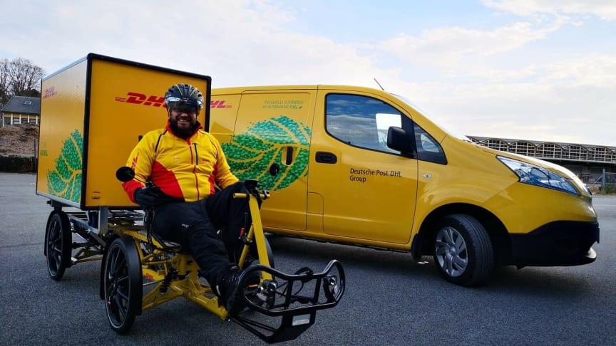 DHL Express ruller ut grønn logistikk på Vestlandet
