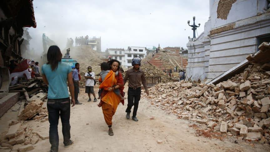 Hjälp till nyfödda i Nepal