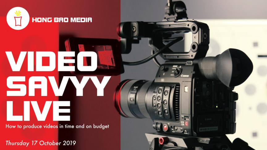 If you are a member of a marketing team tasked with producing content marketing videos or video blogs in-house, this workshop puts you on the fast track to hassle-free productions.