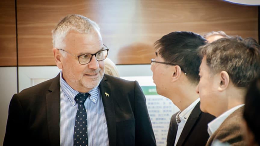 Sture Ericsson, vd Dalarna Science Park, är redo tillsammans med sitt team att bli en del i ett smartare Europa