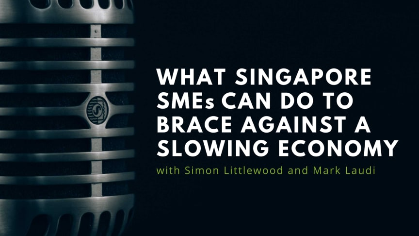 RIABU's Simon Littlewood and Mark discuss measures Singaporean SMES can put in place to guard against a slowing economy