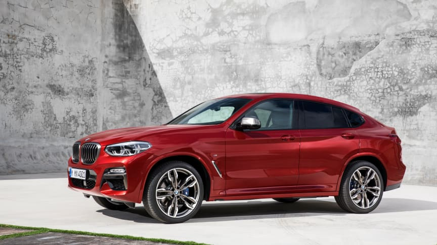 Den nye BMW X4