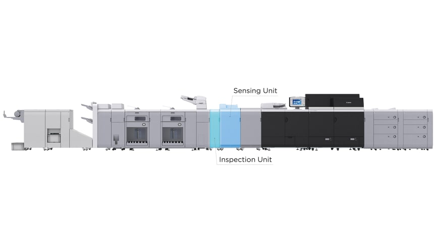 Nya automatiserade alternativ för imagePRESS C10010VP-serien ger avancerad kvalitetskontroll och exakt övervakning