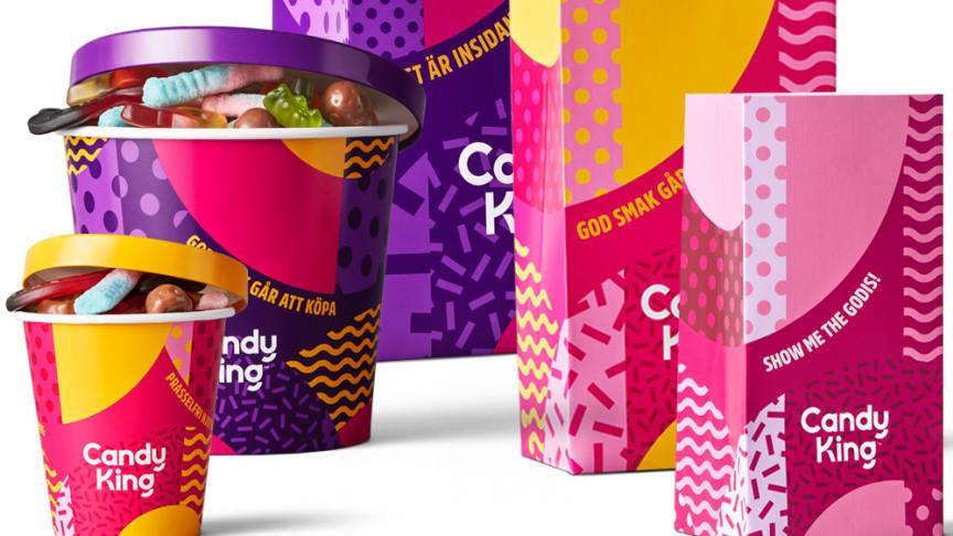 CandyKing lanserar ny design och nomineras i Svenska Designpriset