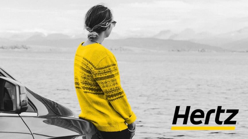 Ekspanderer i strategisk partnerskap med Hertz Norge.