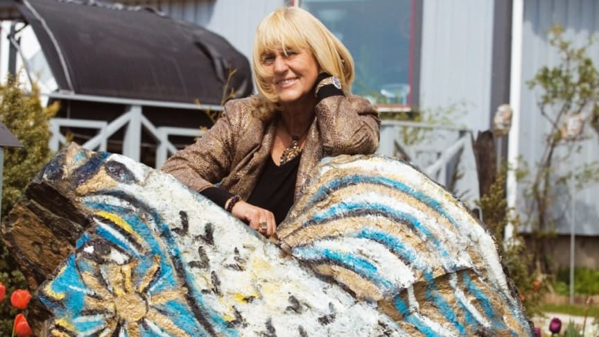 Konstnären Dagmar Glemme får Halmstads kommuns kulturpris år 2020.