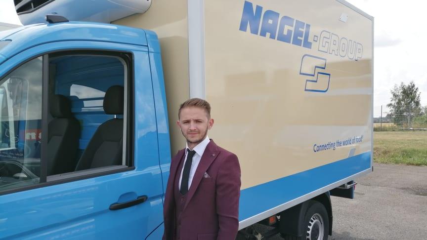 Arthur Ebel, Supervisor Fleet im Corporate Procurement & Fleet Management der Nagel-Group, ist vom Leistungsportfolio des Telematikspezialisten idem telematics überzeugt.