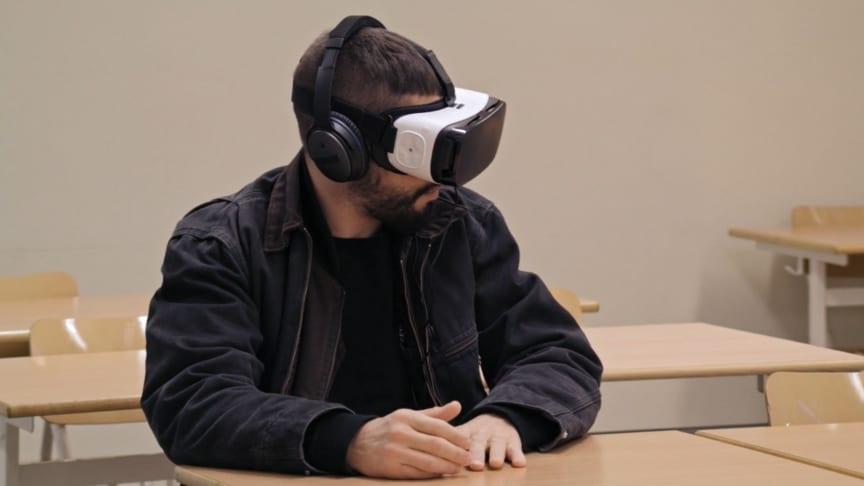 UR visar mobbning ur ett nytt perspektiv genom virtual reality