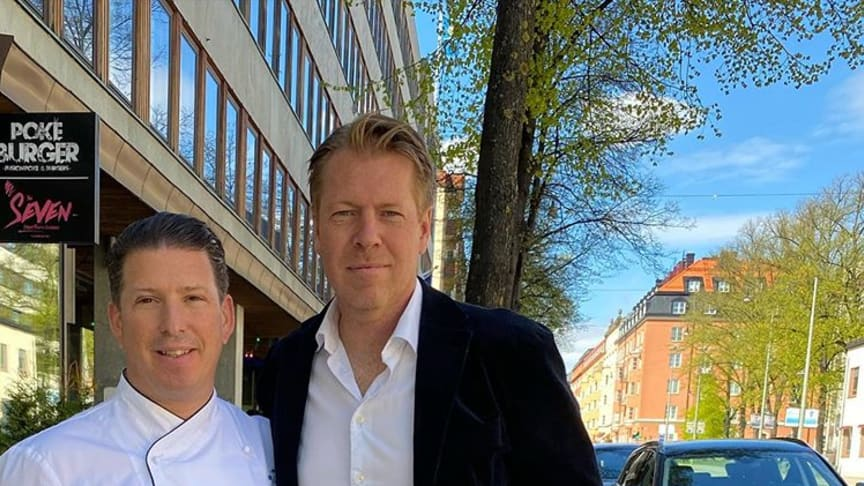 Pontus Frithiof och Marcus Ekman, koncept- och affärsutvecklare Pontus Group