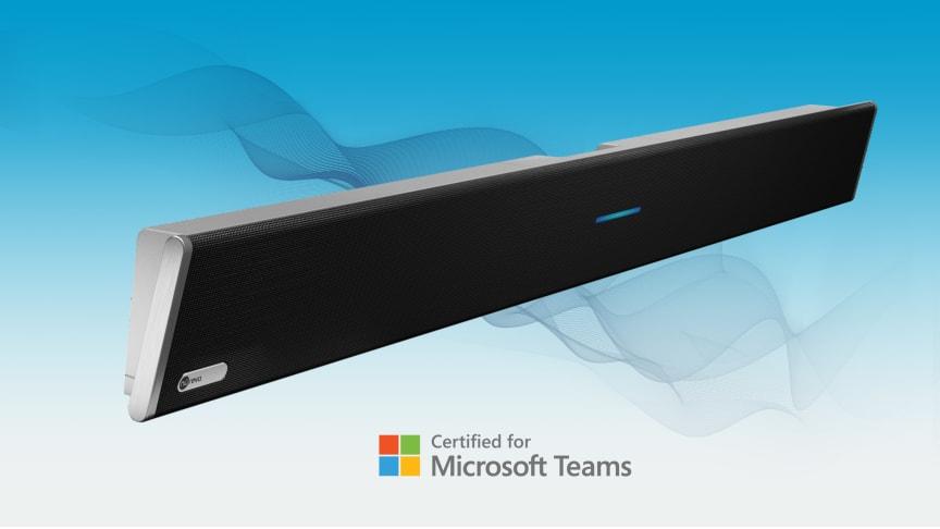 Nureva® HDL300 första ljudlösning för större mötesrum att bli Microsoft® Teams-certifierad
