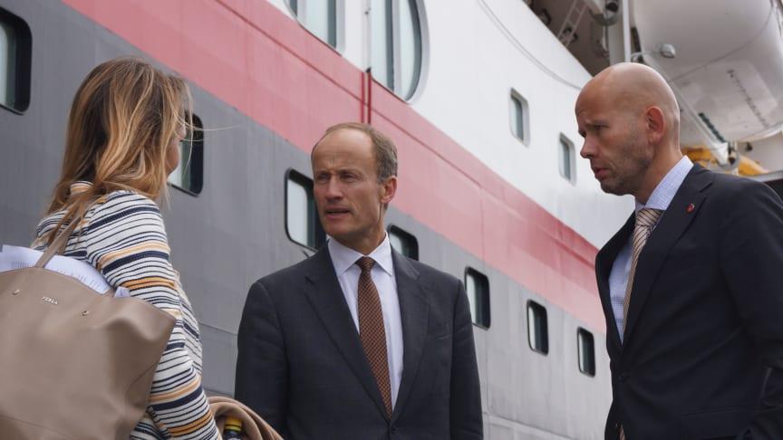 Tord Lien, Linda C.H. Helleland og Nils Kristian Nakstad