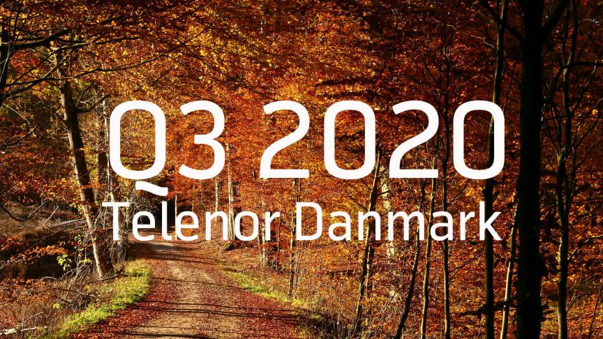 Telenor Danmark leverer fortsat kundefremgang