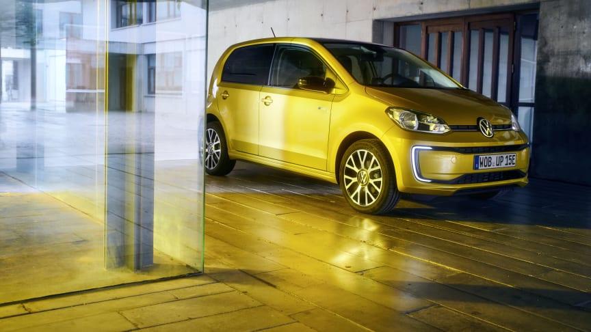 Volswagen introducerer den opdaterede  e-up! er med 260 km rækkevidde og en pris på 162.995 kr.