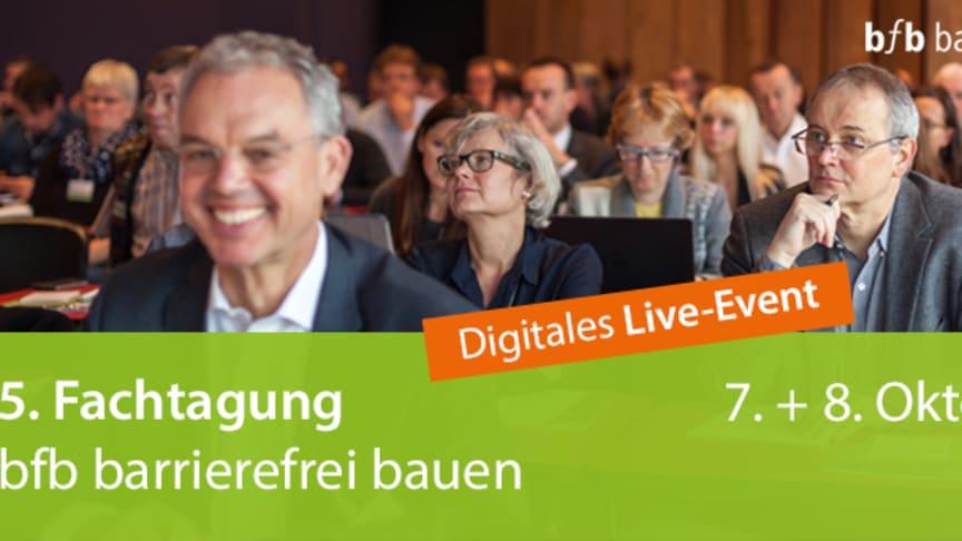 5. Fachtagung bfb barrierefrei bauen wird 2020 digital