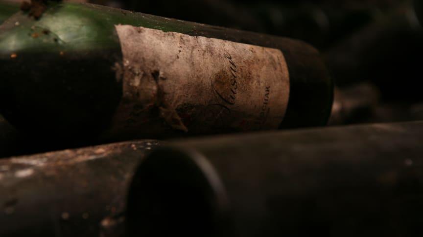 Chateau Musars viner kan lagras i upp till 50 år