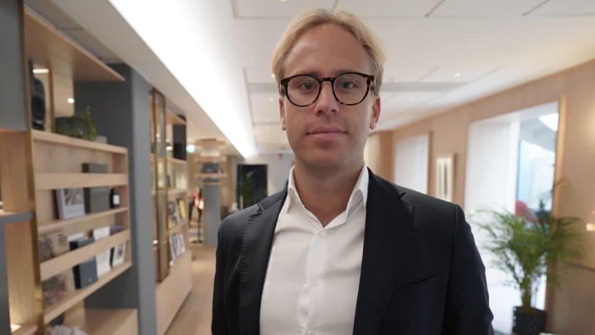 Fredrik Wisborn, transaktionsanalytiker på I am Home