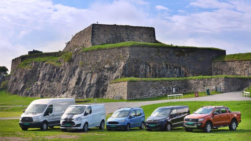 Ford viser helt ny Transit-serie som fullfører fornyelsen av nyttekjøretøyprogrammet for Europa.